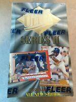 1994 FLEER ULTRA - MLB BASEBALL FACTORY SEALED BOX - SERIES 2 - 36 PACKS!