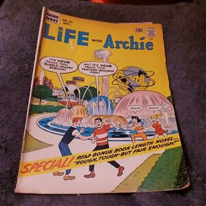 Life With Archie 1964 Comic Book #31 NY World's Fair silver age classic cover