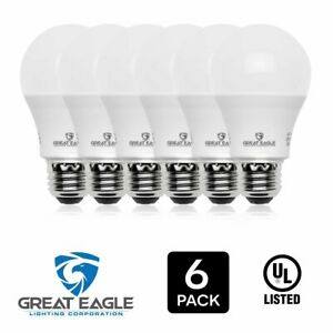 Great Eagle A19 100W Replacement LED Bulb Cool White 4000K 1500 Lumens Dimmable