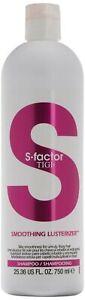 S FACTOR by TIGI Smoothing LusterizerShampoo750 ml