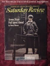 Saturday Review March 27 1971 ARENA STAGE SHEPPERD STRUDWICK ROBERT JAY LIFTON