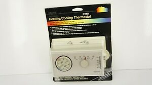 Hard to Find OLDER SEALED PACKAGE SEARS PROGRAMMABLE THERMOSTAT Heat/Cool