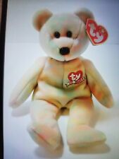 Ty Celebrate the Bear Beanie Baby 2001 Free Shipping Rare Fast Shipping!