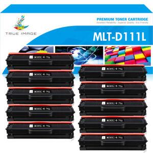 10 Toner für Samsung Xpress M2020 M2070 M2026W M2022W M2070W MLT-D111S/D111L XXL