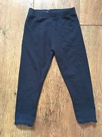 GIRLS 2-3 YEARS NEXT NAVY BLUE LEGGINGS SUMMER/HOLIDAY/BEACH/SMART/PARTY