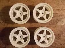 92561 Wheel Set (5 Spoke / White) - Kyosho Pure Ten TF-3 TF-2 Fazer GP-10 TF-5