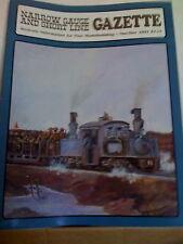NARROW GAUGE & SHORT LINE GAZETTE Nov/Dec 1991 NG&SLG