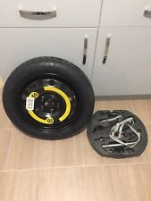 VW GOLF MK5 Mk6 SPACE SAVER SPARE WHEEL And TOOL KIT AUDI A3 SEAT LEON 125/70/16