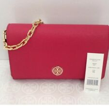 New Tory Burch Wallet On Chain Crossbody Bag Pink/Peony 369050817 $ 295