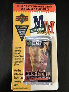 1997-98 Upper Deck Collectors Choice Series 1 Basketball Blister Booster Pack