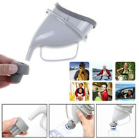 1Xurinal Funnel Portable Travel Urine Camping Device Toilet Lady Women Pee FE