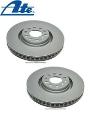 For Audi A6 Allroad Quattro Set of 2 Front Solid Vented Brake Disc 8E0615301AD
