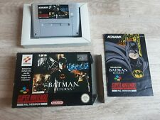 Batman Returns Super Nintendo OVP Snes
