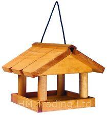 Nouvelle table en bois suspendu Oiseau pour pet, jardin, la station d'alimentation Chargeur de soins oiseaux