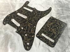 Gold Black Paisley Bakelite Pickguard for Fender® Stratocaster® Strat® style set