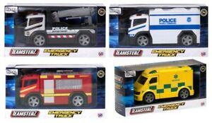 Teamsterz Kids Vehicle Toy Fire Engine Ambulance/Police BRANDED QUALITY TOYS UK