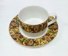 3c3aa9a5257 2 SETS (4 pc) - DOULTON EVERYDAY CINNABAR - FLAT 9 oz CUPS AND