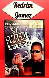 WWF Smackdown Just Bring It PS2 Video Games