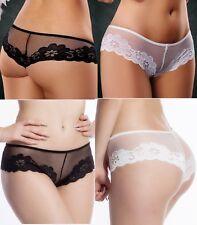Plus Size Panties Mesh Lace Underwear Briefs Plus Size 14 to 18