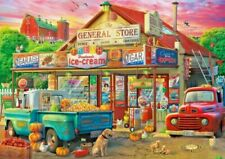 Buffalo Americana Collection Country Store 500 Piece Jigsaw Puzzle Pumpkins Fall