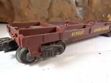 0 & 027 Gauge Union Pacific Pipe/Log Carrying Car No 419067 5-77-5