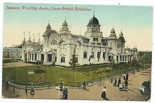 JAPAN BRITISH EXHIBITION, LONDON - JAPANESE WRESTLING ARENA Postcard