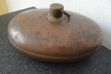 Kupfer- Bettflasche Bettwärmer Wärmeflasche antik aus Kupfer