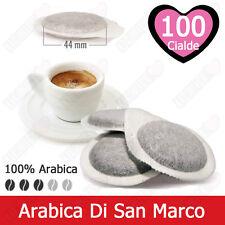 100 Cialde Carta Caffè Tre Venezie Arabica di San Marco