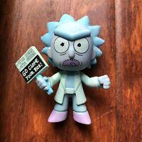 Funko Mystery Mini GLOW Chase GITD Hologram Rick GAMESTOP Exclusive VHTF