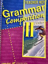 Abeka 8th grade English Grammar and Composition II