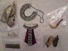 """Ani Tonner Deja Vu 17"""" Male Doll Outfit 300 Made Egyptian Headdress Sandals"""