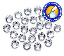 100 SWAROVSKI Kristalle KEIN Hotfix, Crystal SS6 (Strass-Steine zum Aufkleben)