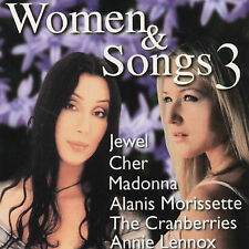 Cher Annie Lennox Faith Hill Madonna etc Women & Songs 3 1999 Wea Canada CD