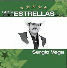 Vega, Sergio : Serie Cinco Estrellas De Oro CD