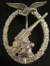 ✚4060✚ German Luftwaffe Flak Gunner Anti Aircraft Badge post WW2 1957 pattern