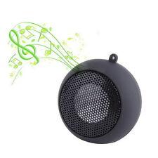 Black Mini Portable Hamburger Speaker For iPod iPhone Tablet Laptop PC MP3 YK