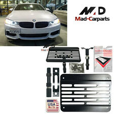 Bumper Tow Hook License Plate Relocation Kit For BMW F30 F32 F10 3 4 5 Series