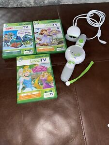 Leaptv 3 Games Disney Princess Pixar Sofia the First Controller Camera