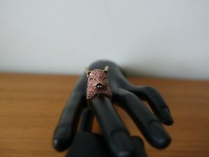 KATE SPADE NY IMAGINATION PAVE PIG RING. SIZE 6.  NEW