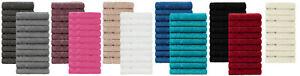 Brandsseller Gästehandtücher Seiftücher  10er Set  ca.30x30 cm  - 100% Baumwolle