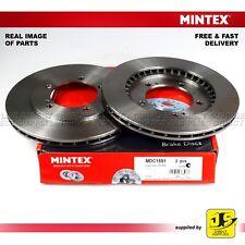 2X MINTEX DISC BRAKES FRONT FOR SUZUKI GRAND VITARA I FT, HT GT - II JT, TE, TD