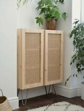 Rattan Wicker Cane Webbing Panel Bedhead Upcycle Table Cabinet Doors by meter