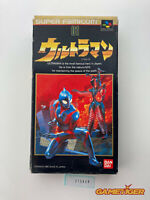 ULTRAMAN Nintendo Super Famicom SNES SFC JAPAN Ref:315659