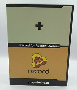 """Propellerhead Record for Reason Owners """"Missing - Ignition key."""" Version 1.5"""