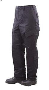 Tru-Spec Xfire Pants 80/20 Navy FR Tactical Response Uniform 1681025 Large Long