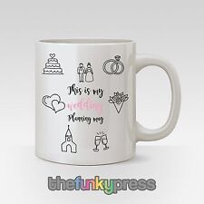 This Is My Wedding Planning Mug Cup Tea Coffee Bride To Be Engaged Slogan Gift