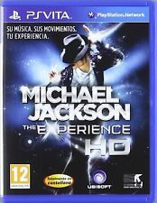 PS VITA Michael Jackson The Experience Nuevo Precintado Pal España