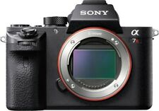Sony - Alpha a7R II Full-Frame Mirrorless 4k Video Camera (Body Only) - Black