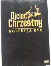 Ojciec Chrzestny / The Godfather Kolekcja 3xDVD PL