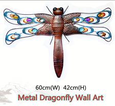 Metal Dragonfly Wall Art Garden wall dragonfly sculpture Garden Decor statues